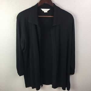 Exclusively Mistook Long Sleeve Open Front Jacket